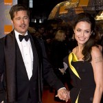 Brad Pitt and Angelina Jolie attend The Orange British Academy F