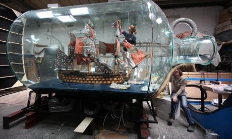 bottle of trafalgarNelsons-Ship-in-a-Bottle--001