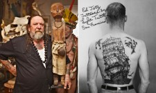 Henk Schiffmacher founder of Amsterdam Tattoo Museum