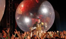 Stephen Colbert in a bubble