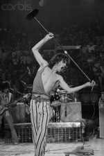Mick Jagger Strutting on Stage